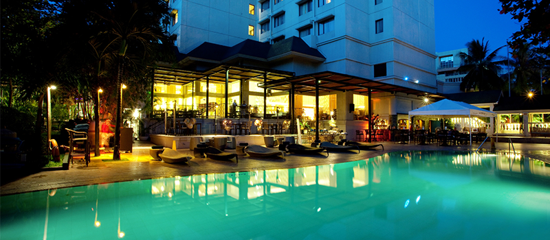 20% off on food and beverages - Cebu Marriott Pool Bar