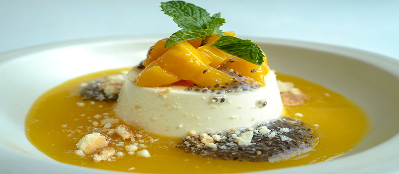 Free Mango Panna Cotta for a minimum spend of P1,000 - Green Pastures