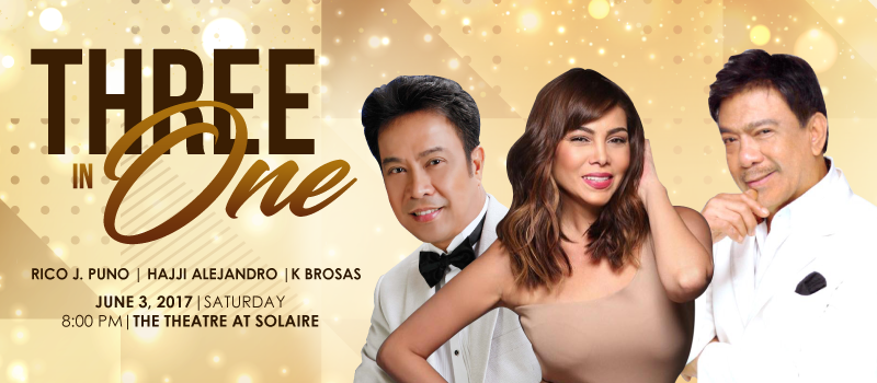 Three in One Concert - Solaire Resort and Casino