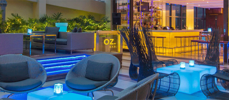 20% off on F&B - OZ Bar (Holiday Inn & Suites Makati)