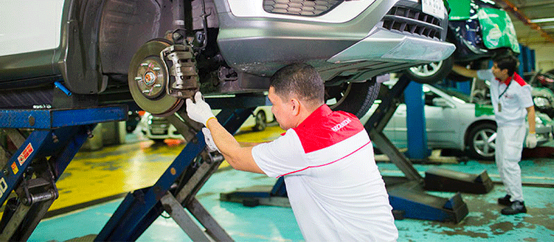 5% off on parts for general repair - Honda