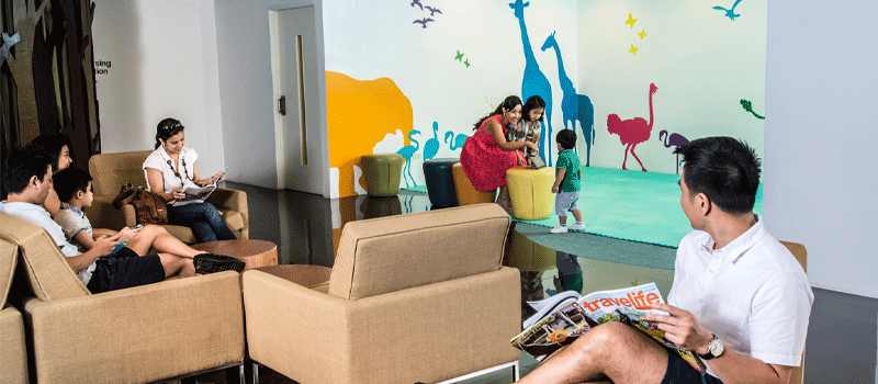 Family Lounge - free access for two (2) - Ayala Malls