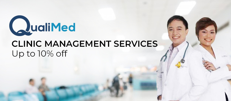 Up to 10% off on Clinic Management Services - QualiMed: Clinic Management Services