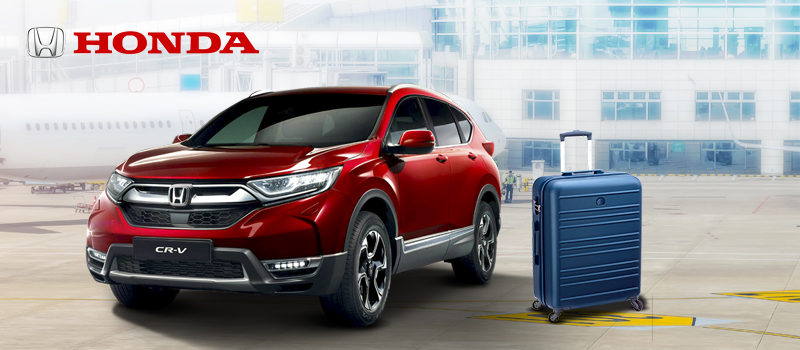 Get a Free Delsey Luggage for every car purchase - Travel in Style with Honda and Delsey
