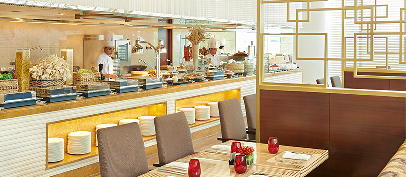 40% off on lunch and dinner buffet - Spectrum (Fairmont Makati)