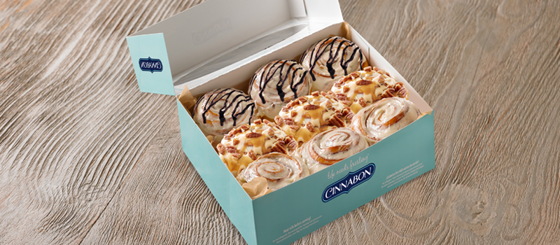 15% off on Cinnapack 9s (min. of 2 boxes) - CINNABON