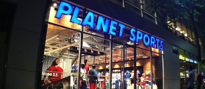 15% off on outright brands (Regular-priced items) - PLANET SPORTS