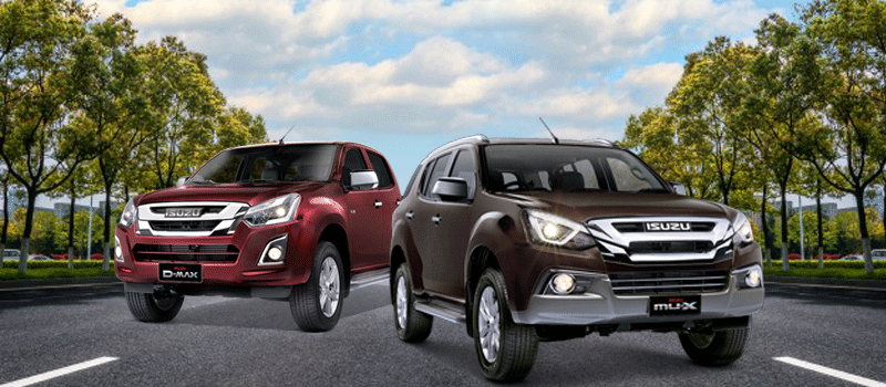 P15,000 off on mu-X and D-MAX - ISUZU EXCLUSIVE
