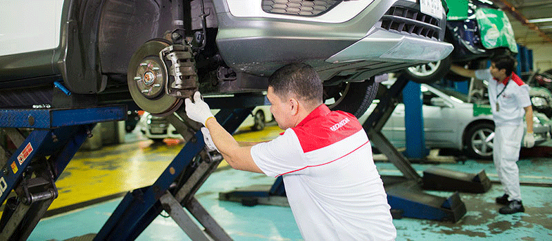 Up to 18.5% off on select services - Ayala 185 Honda Offer